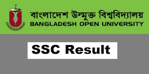 Bangladesh Open university BOU SSC Exam Result 2018